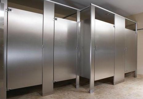 Stainless Steel Bathroom stalls